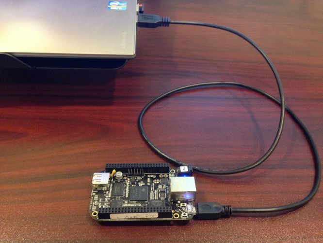 BeagleBone Black Persistent USB Internet Connection